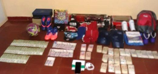 Menores de 11 y 13 años entregados a su madre luego de robar65 mil pesos de una vivienda en Apóstoles