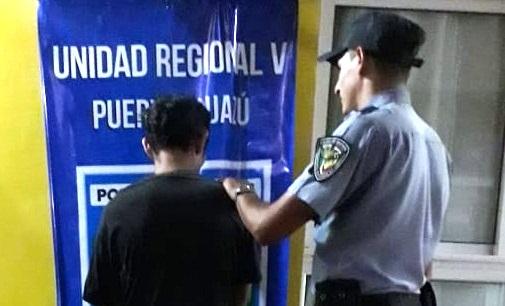 La policía detuvo a un hombre por un intento de robo calificado en Andresito