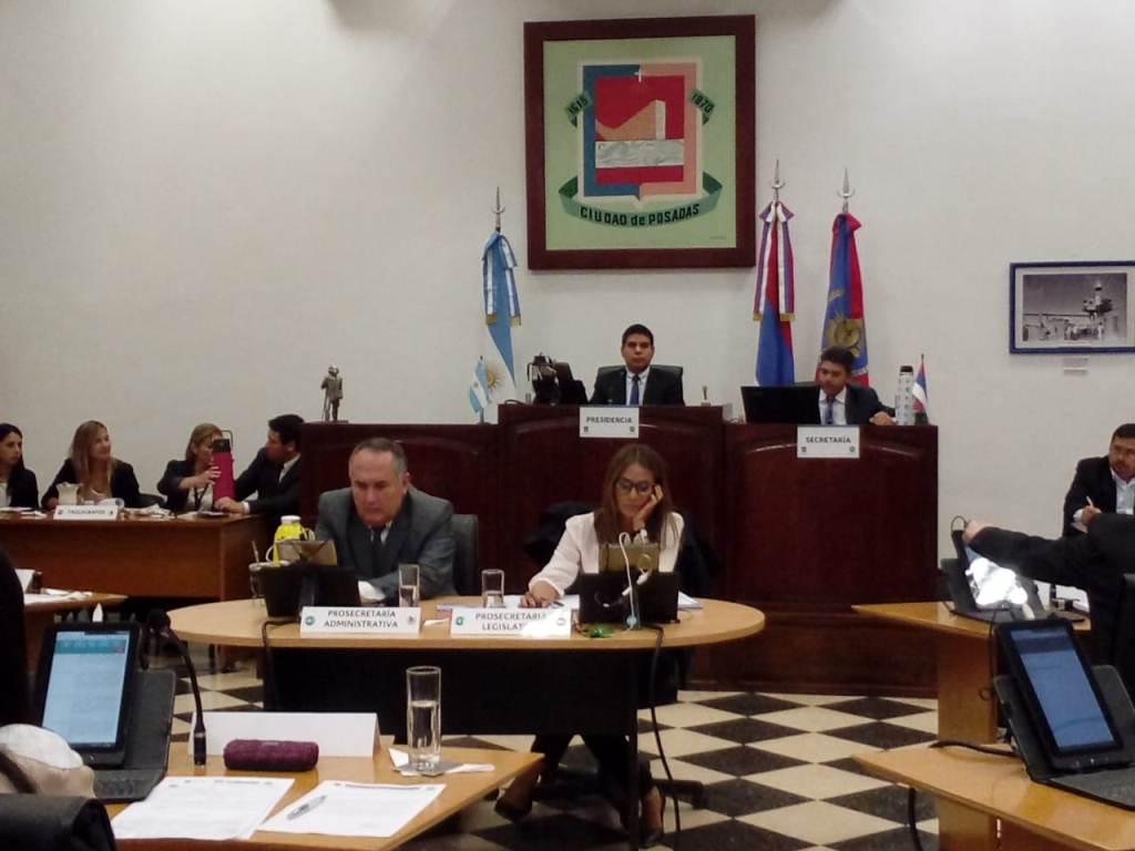 El Concejo Deliberante de Posadas dio inicio al periodo de sesiones 2019