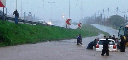Continúa el temporal en Misiones: hoy cayeron 85 milímetros de agua en Posadas