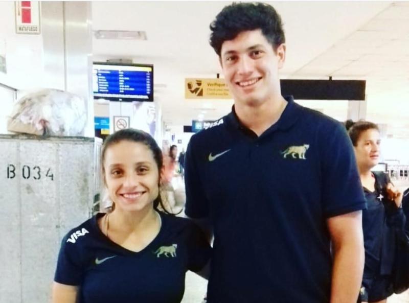Suramericanos de playa: con la presencia de los misioneros Paula Pedrozo y Martín Bogado las selecciones de rugby comenzaron ganando