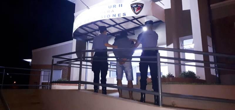 Oberá: la Policía detuvo a un hombre por amenazar e intentar incendiar la vivienda de su ex pareja