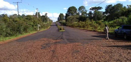 Vialidad Provincial terminó trabajos de pavimentación en Ruiz de Montoya