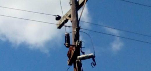 Investigan daños y robos de transformadores eléctricosen Oberá y Los Helechos