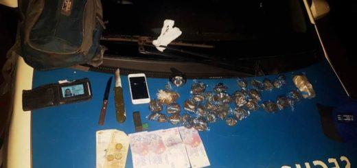 Operativo de alto impacto en Posadas: detenidos, estupefacientes secuestrados y vehículos retenidos