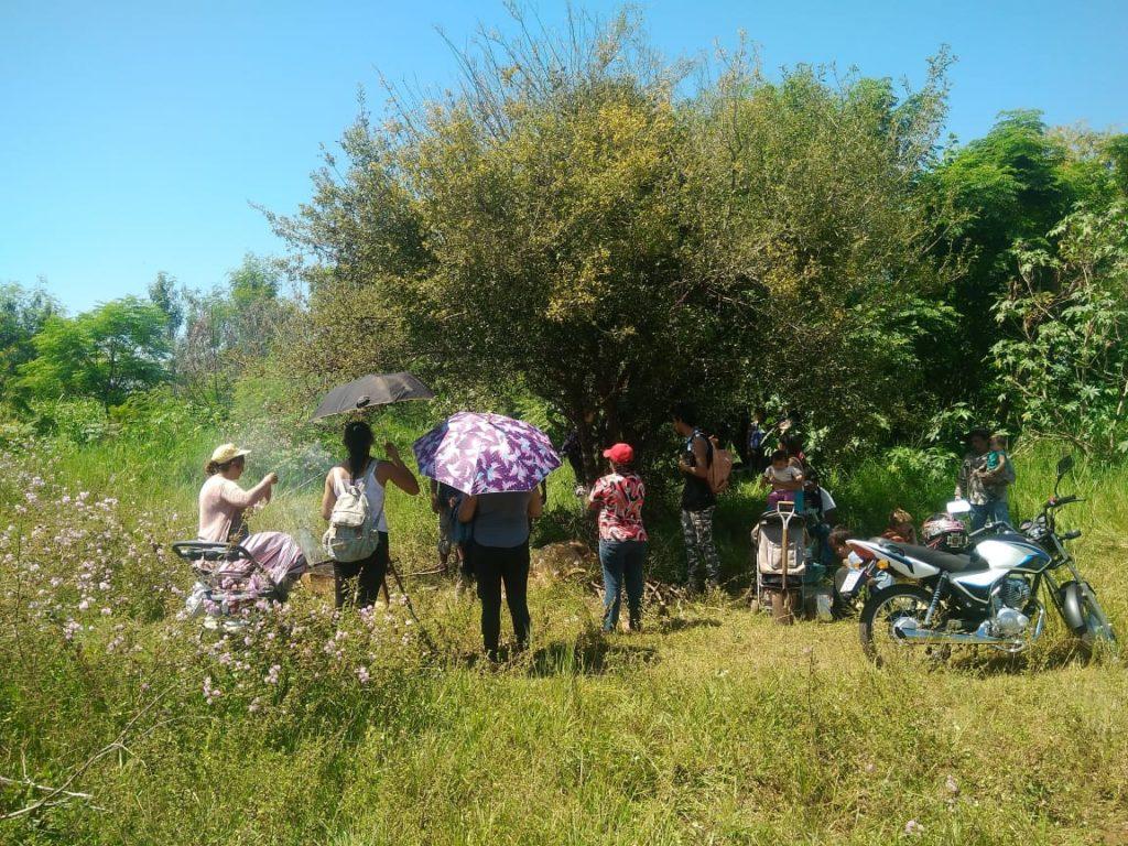 Posadas: unas 200 familias intrusaron un terreno del acceso oeste y se resisten al desalojo