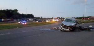 Nueve muertos en Carmen de Areco: iban 15 a bordo de una camioneta y chocaron