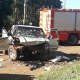 Tres de los accidentados en Gobernador Roca hace una semana continúan internados en grave estado