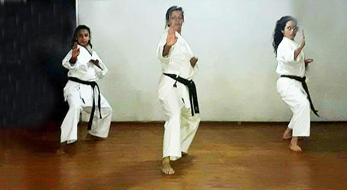 Se reinician las clases de karate en Candelaria