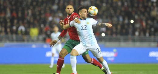 Amistoso internacional: Argentina y Marruecos igualan sin goles