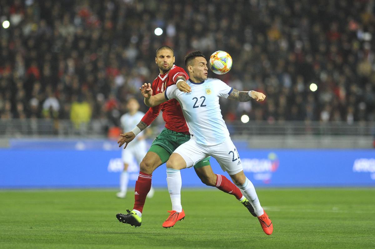 Amistoso internacional: Argentina vence 1-0 a Marruecos