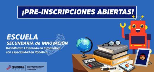 Abre sus puertas la escuela secundaria de innovación de Misiones