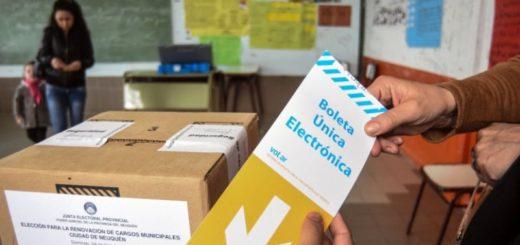 """Para la Junta Electoral de Neuquén, la elección se desarrolla con """"normalidad"""""""