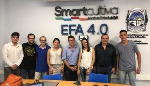 EFA4.0-SmartCultiva InnovationLab brindó una capacitación sobre captación de energía