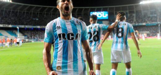 Súperliga: Racing venció con autoridad a Estudiantes
