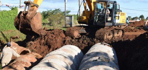 El conjunto de obras realizadas en Posadas, ayudó a escurrir rápidamente el agua a pesar de la cantidad extraordinaria de lluvia caída