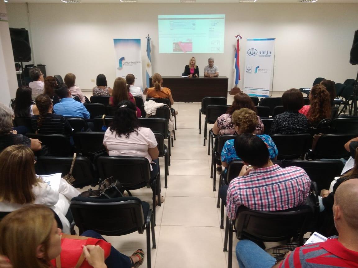 El Poder Judicial de Misiones participó de una Jornada Federal en conmemoración del Día Internacional de la Mujer