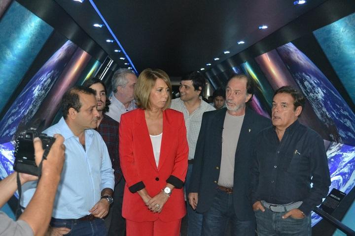 """Para Claudia Gauto, """"el Observatorio se va a transformar en un atractivo turístico más para Posadas"""""""