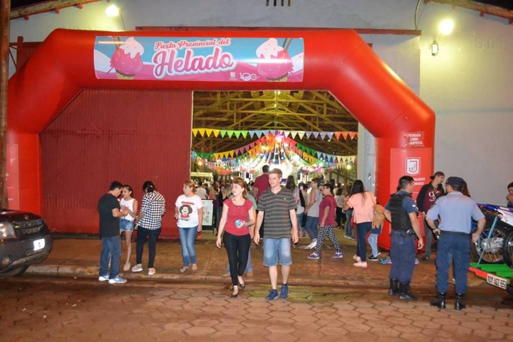 Eldorado: más de 17 mil personas visitaron la Fiesta provincial del Helado