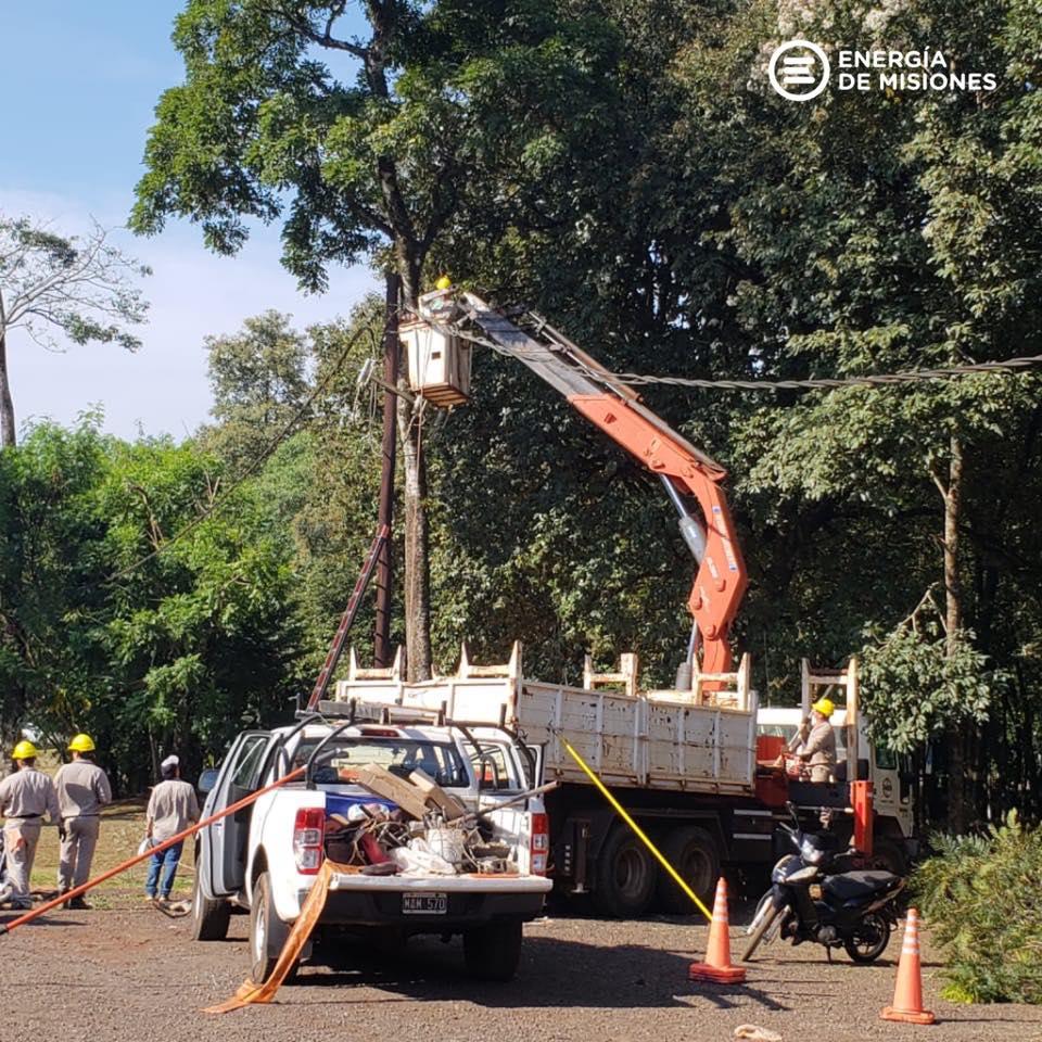 Puerto Iguazú: Energía de Misiones concretó nuevos trabajos en la subestación de las 600 hectáreas