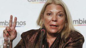 """Elisa Carrió calificó de """"imbécil"""" al ministro de Justicia Germán Garavano"""