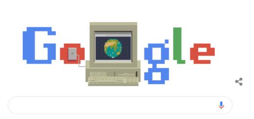 Google celebra el aniversario de internet con un doodle para recordar la efemérides