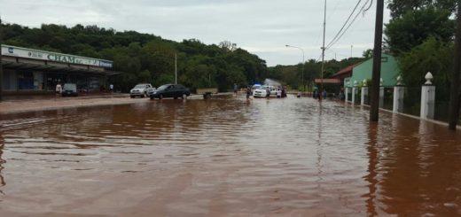 Temporal en Misiones: unas 100 familias fueron asistidas y siguen relevando daños
