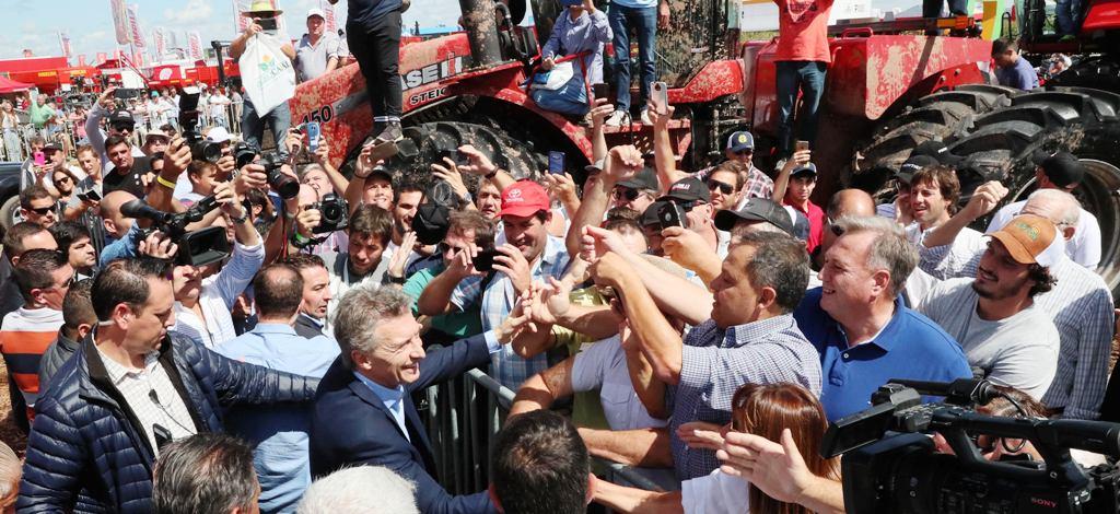 Macri anunció un paquete de medidas en beneficio de los productores rurales