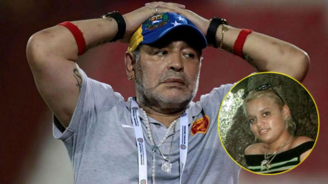 Quién es Adonay Fruto, una de las presuntas madres de los hijos de Diego Maradona