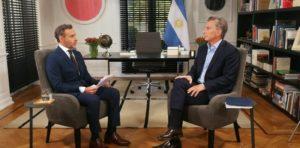 """Mauricio Macri: """"Lo que hizo mi padre era un delito, él formaba parte de un sistema extorsivo del kirchnerismo"""""""