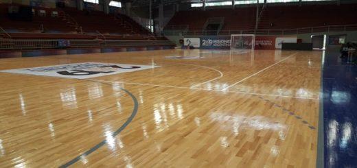 #MundialDeFutsal: el polideportivo de Montecarlo luce impecable para la ceremonia inaugural y el debut de la Argentina