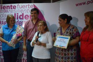 Mes de la Mujer: la Municipalidad de Posadas reconoció el accionar de mujeres de barrio
