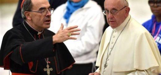 El Papa Francisco recibió al cardenal Barbarin, condenado en Francia por encubrir abusos sexuales