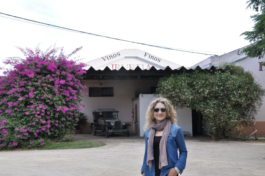 Visitando la Bodega Irurtia, en Carmelo Uruguay