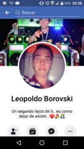 Femicidio en San Vicente: los posteos en Facebook del joven detenido y Fiorella