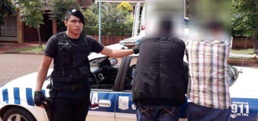 Apóstoles: en dos procedimientos la Policía detuvo a seis personas y secuestró varios vehículos