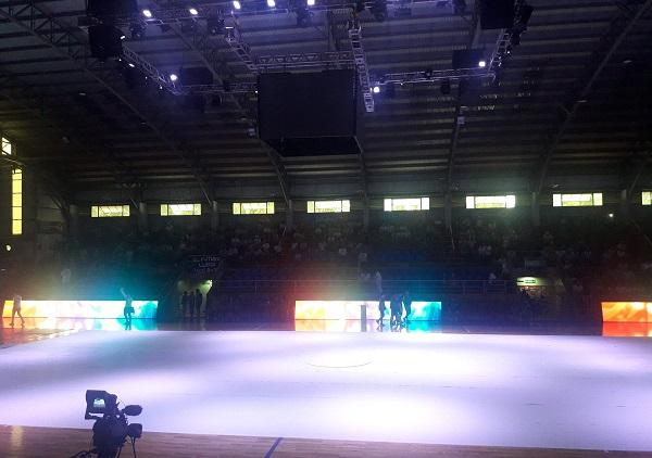 #MundialDeFutsal: se abrieron las puertas del polideportivo de Montecarlo y el público ya copa las instalaciones