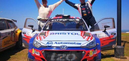 El piloto de Paraguay, Diego Domínguez se quedó con la primera fecha del Rally Sudamericano