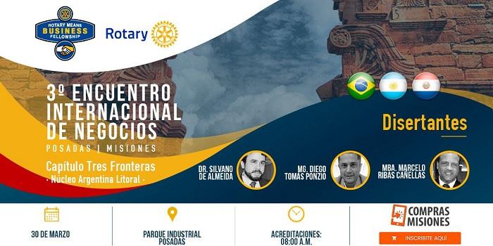 Destacados empresarios de la región se preparan para la rueda de negocios organizada por el Rotary Means Business