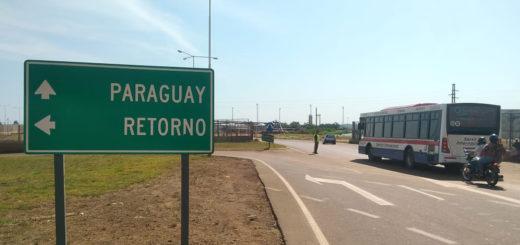 Sábado sin tren internacional y poca fila en el puente Posadas - Encarnación