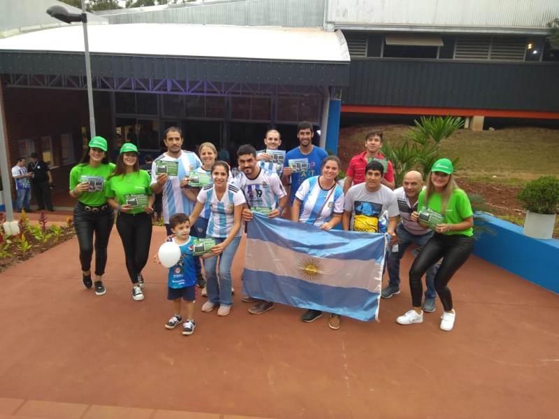 En el arranque del mundial de Futsal, promocionaron a la Selva Misionera como candidata para ser una  las 7 Maravillas Naturales de Argentina