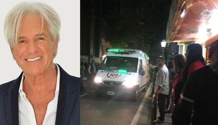 Video: así fue el accidente de Sergio Denis durante un show en Tucumán