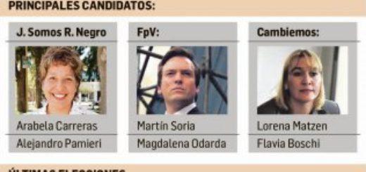 Hoy se elige gobernador en Rio Negro entre el oficialismo provincial y el Kirchnerismo