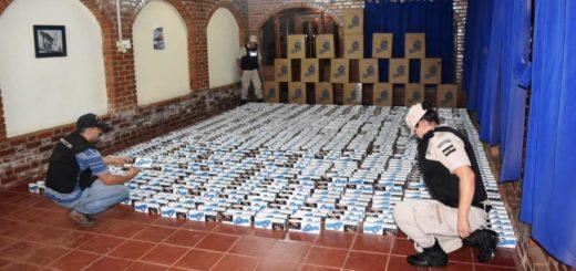 Prefectura secuestró cigarrillos de contrabando por más de 900.000 pesos