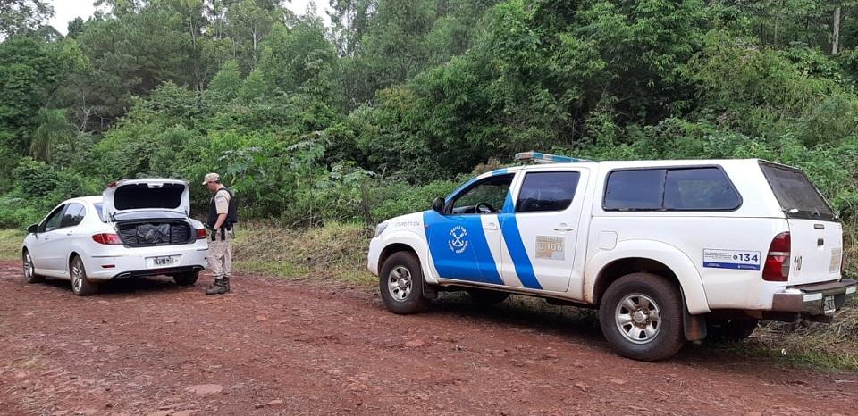 Prefectura secuestró cargamento de cigarrillos y detuvo a un contrabandista en Misiones