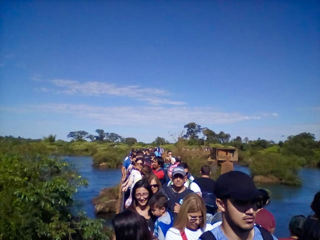 Cataratas cerró el Viernes Santo con más de 11 mil visitas