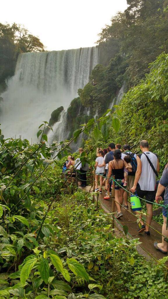 Cataratas cerró abril con más visitas respecto al mismo mes de 2018