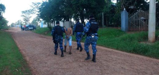 """Iguazú: en un intenso Operativo la policía detuvo a """"Dani"""", Marcelo y """"Eñepue"""" por agredir a un jubilado en un hecho de robo"""