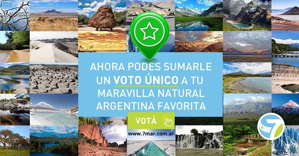 Concurso 7 Maravillas Naturales Argentinas: ahora con tu voto, tu destino favorito tiene doble chance de ganar