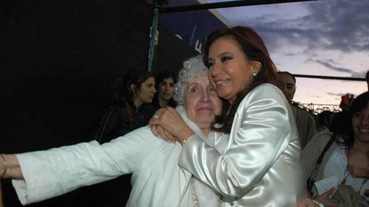 Falleció Ofelia Wilhelm, la mamá de Cristina Kirchner